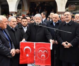 Kızılcahamam'da Afrin şehitleri dualarla anıldı