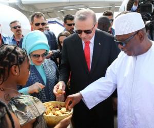 Cumhurbaşkanı Erdoğan, Mali'de