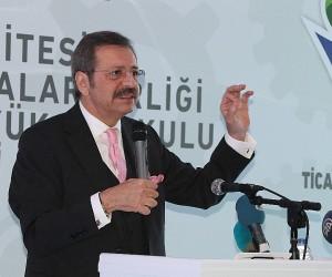 """TOBB Başkanı Hisarcıklıoğlu: """"Dünya ekonomisi içine kapanırsa, Allah korusun dünyayı felaket bekliyor"""""""