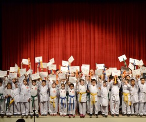 Biga Karate Gençlik Spor Kulübü karatecileri kemer yükseltti