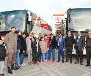 Başkan Tutal engelli öğrencileri Çanakkale gezisine gönderdi