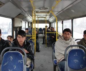 Erzurum'da 2 günde 300 kaçak göçmen yakalandı