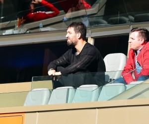 Arda Turan, maçı locadan izledi