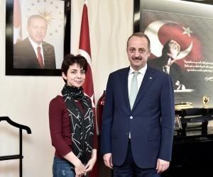 Mamak Belediye Başkanı Mesut Akgül, doktora tezi için konuştu