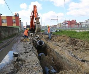 ASKİ'de Fevzipaşa'ya yağmur suyu hattı projesi