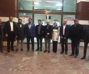 Milletvekili Fırat  Özel Park Hospital Hastanesi yöneticileriyle bir araya geldi
