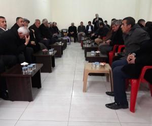 Kaymakam Dundar'dan Şehit Çevik'in ailesine taziye ziyareti