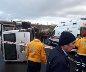 Başkent'te feci kaza: 1 ölü, 6 yaralı