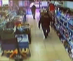 Ataşehir'de 17 Bin liralık silahlı market soygunu kamerada