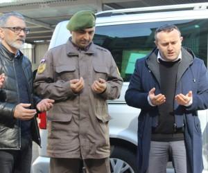 Karadeniz'deki askerlerden Afrin'deki askerlere önce dua sonra fındıklı destek