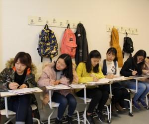 Çinli öğrenciler Türkçe öğreniyor