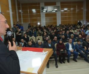 """Ardahan'da """"Kudüs Sorumluluğumuz"""" konulu konferans düzenlendi"""