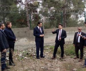 Rektör Karacoşkun Karataş Kampüsü'nde incelemelerde bulundu