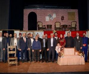 """Konya'da """"Abdülhamid Ateş Çemberi"""" oyunu sahnelendi"""