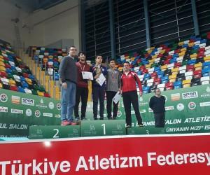 Adıyamanlı sporcu Türkiye 2.'si oldu