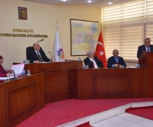 Denetim komisyonu raporu il genel meclisine sunuldu