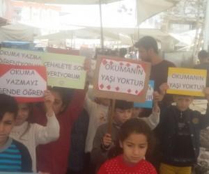 Minik öğrencilerden anlamlı kampanya