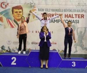 Adıyamanlı halter sporcusu Türkiye ikincisi oldu