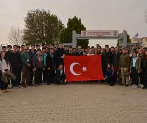 Lise öğrencilerinden Afrin'deki harekata katılmak için dilekçe