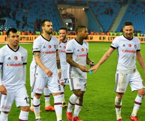 Spor Toto Süper Lig: Trabzonspor: 0 - Beşiktaş: 2 (Maç sonucu)