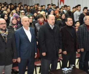 Tuğrul Selmanoğlu Dursunbey'de Kudüs'ü anlattı