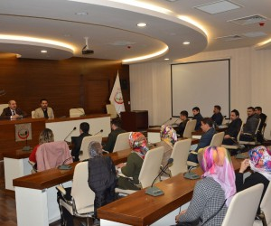 Belediye Başkanı Kılıç girişimci adaylarıyla bir araya geldi