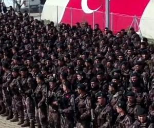 JÖH ve PÖH birlikleri Afrin'e böyle gidiyor