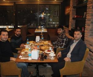 Silopi Kaymakamı Konak'tan basın mensuplarına veda yemeği