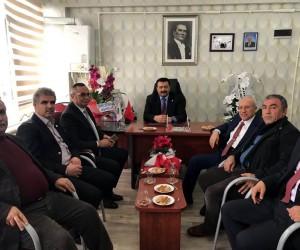 Lokantacılar ve Pastacılar Odası Başkanı Altan Aydemir'e hayırlı olsun ziyaretleri sürüyor