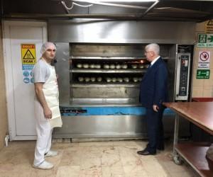"""Başkan Yüksel: """"Halkımıza ucuz ekmek yedirmenin mutluluğunu yaşıyoruz"""""""