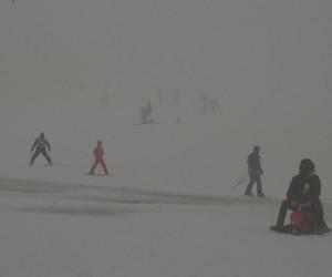 Uludağ'da yoğun sis