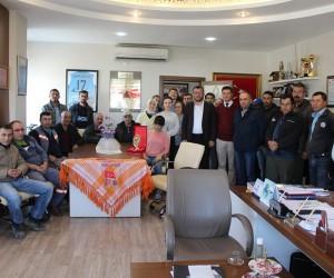 Selçuk'ta yabancı uyruklu öğrencilerden Zeytin Dalı Harekatına destek