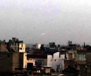 Afrin'deki YPG'li hedefler ateş altına alınıyor