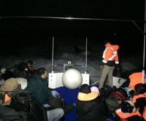 Davutlar'da 45 kaçak göçmen yakalandı