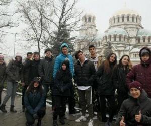Kuşadalı öğrencilerden kardeş şehir Sinaia'ya dostluk gezisi