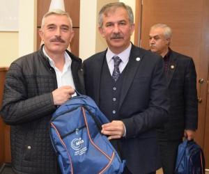 İl Afet ve Acil durum müdürlüğü ihtiyaç çantalarını tanıttı