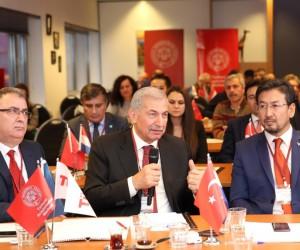 Avrupa Türkçe Yayınlar Sempozyumu'nda 'Yeni İpek Yolu Projesi' tartışıldı