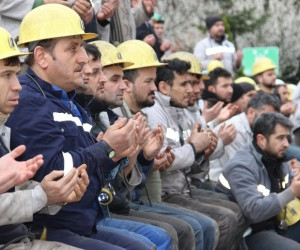 35 yıl önceki grizu faciasında ölen 103 madenci dualarla anıldı