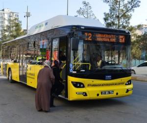 Diyarbakır'da 8 Mart'ta kadınlara ücretsiz ulaşım