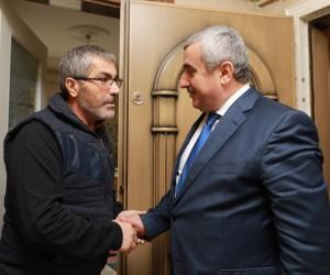 Başkan İsmail Baran'dan şehit babasına ziyaret