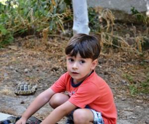 Söke'de Lösemi hastası minik Emre Kök hücre bağışı bekliyor