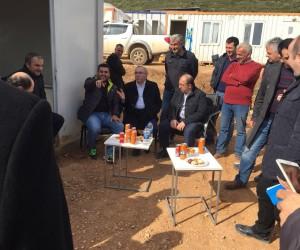 Kemalpaşa TOKİ'de çalışmalar devam ediyor