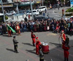 Balıkesir'de müzik grupları Afrin için destek gösterisi yaptılar