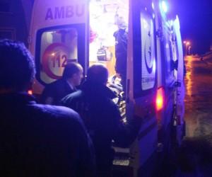 Bonzai içen genci ölümden polis kurtardı