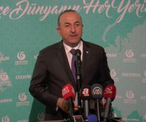 Dışişleri Bakanı Çavuşoğlu, Yunus Emre Enstitüsü açılış törenine katıldı