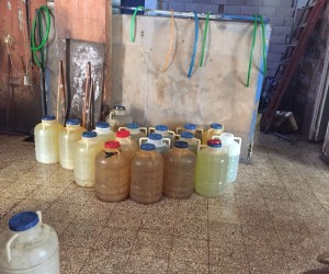 Mersin'de 2 bin 250 litre kaçak akaryakıt ele geçirildi