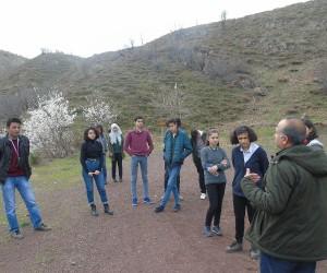 Öğrenciler Doğanlı Anıt alanını gezdi