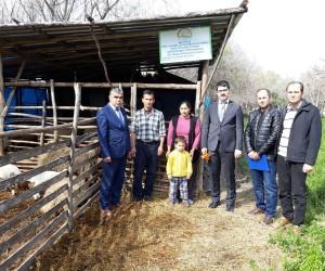 Kaymakam Coşkun'dan genç çiftçilere destek