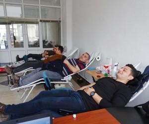 Hisarcık'ta kan bağışı kampanyası