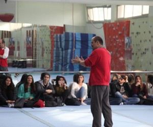 """""""Sosyal İçerme Aracı Olarak Dövüş Sanatları'' toplantıları devam ediyor"""